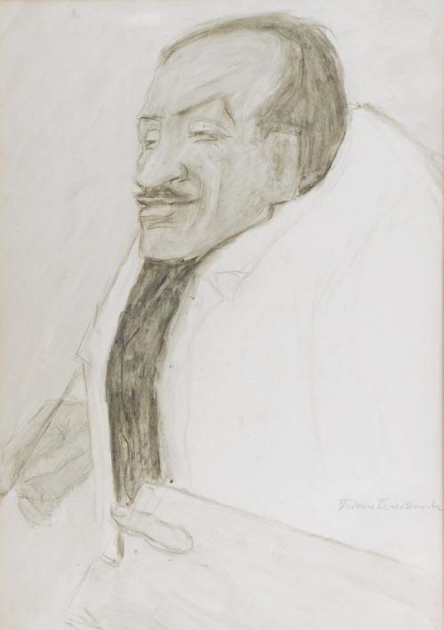 Tadeusz WAŚKOWSKI (1883-1966), Typ charakterystyczny - Portret Tytusa Czyżewskiego