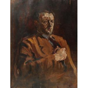 Michał KMIT (1910-1981) ?, Portret męski