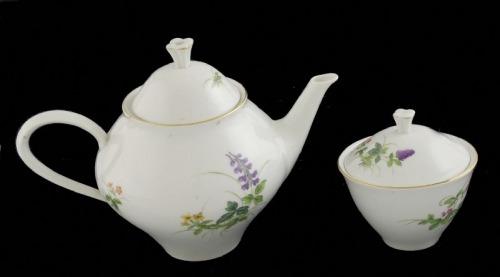 Dzbanek do herbaty z cukiernicą