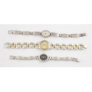 3 damskie zegarki