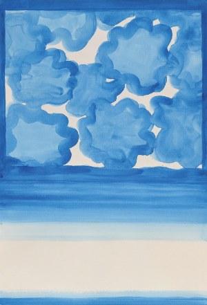 Stefan GIEROWSKI (ur. 1925), Kompozycja niebieska