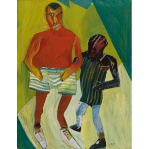 Jacek SROKA (ur. 1957), Bez tytułu, 1989