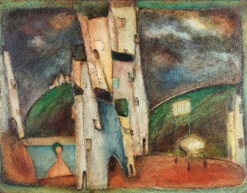 Marian MAKARSKI (ur. 1928), Z cyklu: Miasto,