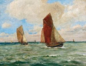 Michał GORSTKIN WYWIÓRSKI (1861-1926), Łodzie rybackie
