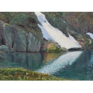 Zefiryn ĆWIKLIŃSKI (1871-1930), Zielony Staw Gąsienicowy