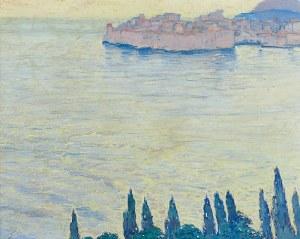 Ludwik de LAVEAUX (1891-1969), Pejzaż morski - Dubrownik