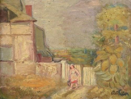 Michel ADLEN (1898-1980), Okolice Honfleur, 1929