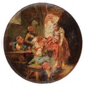 Jan Czesław MONIUSZKO (1853-1908), Scena w karczmie, 1896