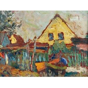 Grzegorz  MENDOLY (1898-1966), Rybacka chata