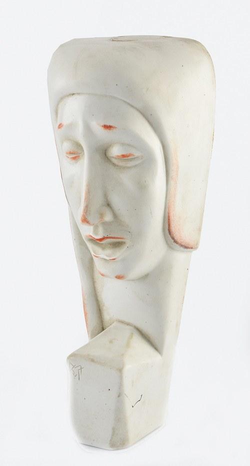 Rosenthal AG, Bahnhof Selb, Maska przyścienna (głowa kobiety) w stylu art déco