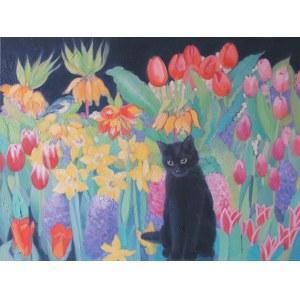 Danuta Wójcik, Kot w krainie czarów, 2019