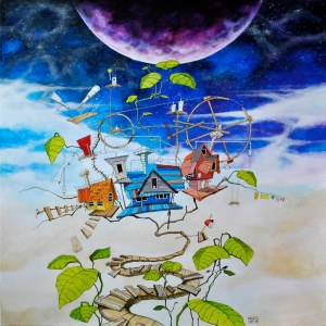 Dariusz Franciszek Różyc, Purple moon, z cyklu