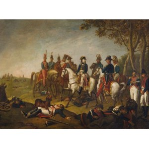 Malarz polski, XIX w. (przyp. Januaremu Suchodolskiemu), Napoleon po bitwie pod Jeną