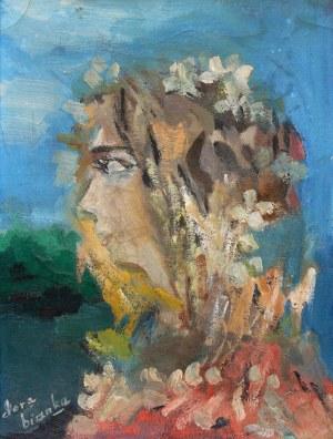 Dora Kucembianka (1895 Warszawa - 1979 Chesnay), Kobieta z kwiecistym welonem