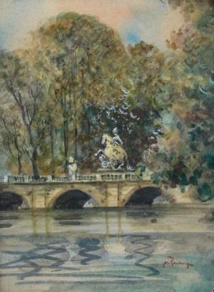 Marian Puchalski (1912-1970), Pomnik Jana III Sobieskiego w Łazienkach