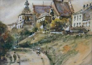 Marian Puchalski (1912-1970), Ulica Podwale i klasztor Dominikanów w Lublinie