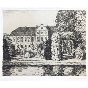 Berthold Hellingrath (1877 Elbląg - 1954 Hannover), Pałac Opatów w Oliwie, 1923 r.