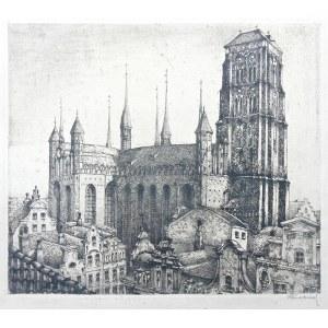 Paul Kreisel (1891 Gdańsk - 1956), Ponorama Gdańska