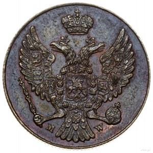 3 grosze, 1836 MW, Warszawa; NOWE BICIE - charakterysty...