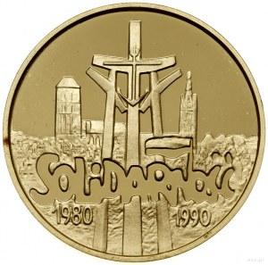 200.000 złotych, 1990, USA; Solidarność 1980–1990; Fr. ...
