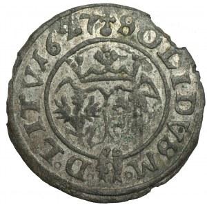 Zygmunt III Waza (1587-1632) - Szeląg 1627 Wilno
