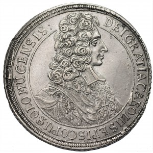 AUSTRIA OŁOMUNIEC - biskupstwo Karol III Józef Lotaryński (1695-1711) - Talar 1706