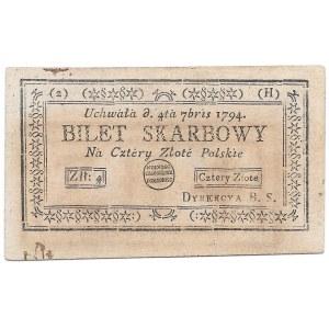 4 złote 1794 (2) (H)