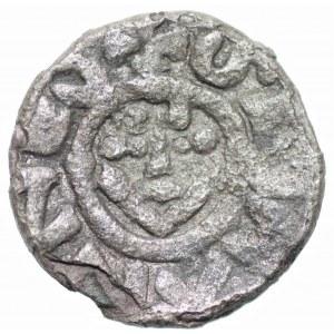 Bolesław III Krzywousty (1107-1138) - Denar bez daty Wrocław 1097-1107 - monogram SI
