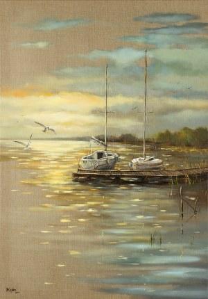 Magdalena Kępka, Wieczór nad jeziorem, 2019
