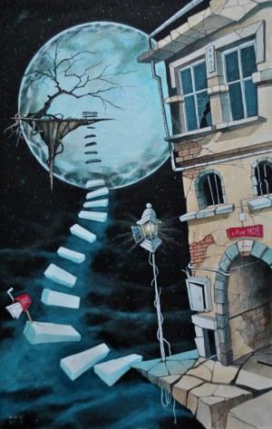 Dariusz Franciszek Różyc, Sur la bord mon ruelle.., 2019