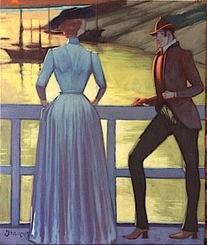 Jacek Pałucha - Para na moście