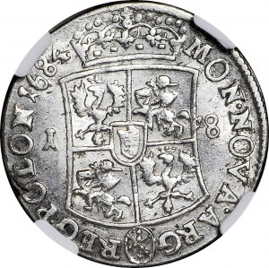 Jan III Sobieski, Ort 1684 Bydgoszcz, menniczy