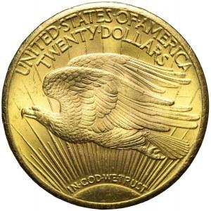 Stany Zjednoczone Ameryki (USA), 20 dolarów 1928, Saint Gaudens, mennicze