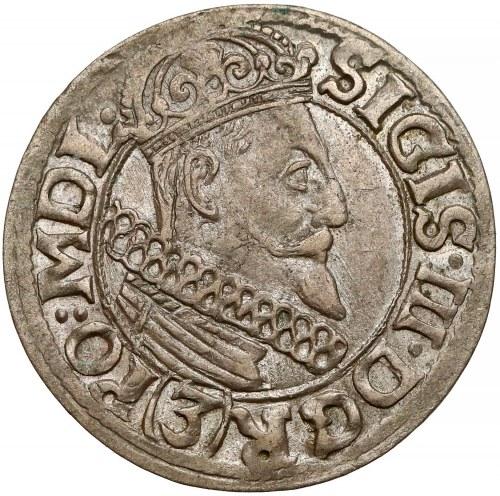 Zygmunt III Waza, 3 krucierze Kraków 1617