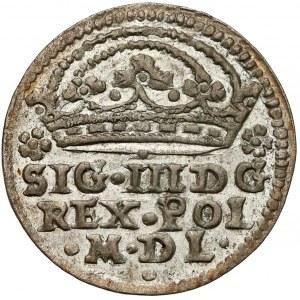 Zygmunt III Waza, Grosz Kraków 1608 - gwiazdy - piękny