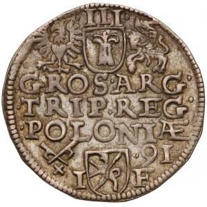 Zygmunt III Waza, Trojak Poznań 1591