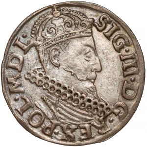 Zygmunt III Waza, Trojak Kraków 1620 - piękny