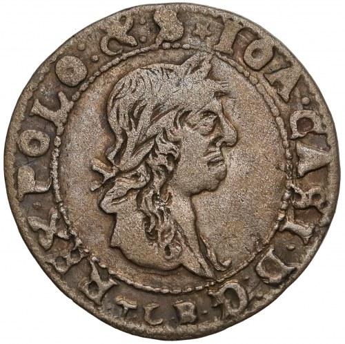Jan II Kazimierz, Trojak Wilno 1665 - bardzo ładny