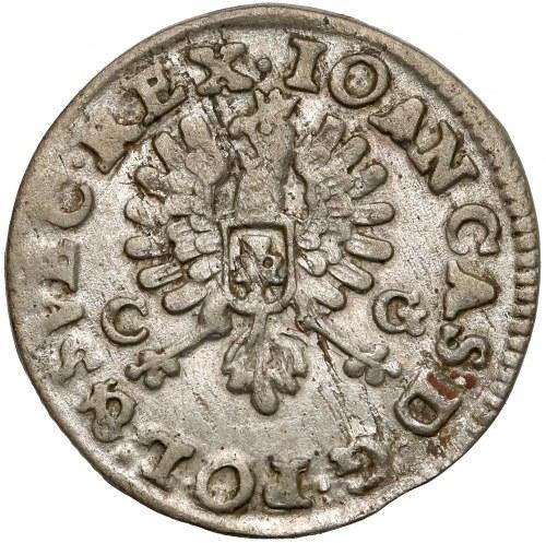 Jan II Kazimierz, Dwugrosz Bydgoszcz 1651 CG