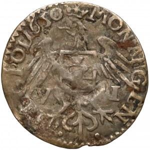 Jan II Kazimierz, Szóstak Wschowa 1650 - rzadki