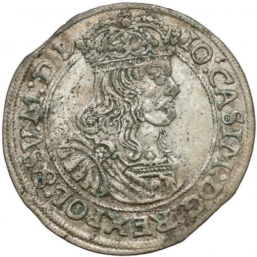 Jan II Kazimierz, Szóstak Kraków 1667 TLB - rzadkie popiersie