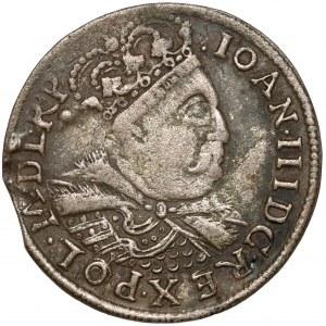Jan III Sobieski, Szóstak Kraków 1684 - C - w koronie