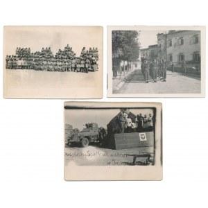Zdjęcia 1943-44 w tym Kompania Ochrony Sztabu i pojazd pancerny (3)