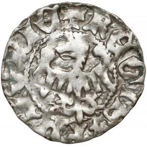 Władysław II Jagiełło, Półgrosz Kraków - typ XII - bez znaków