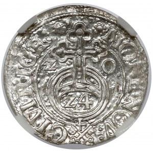Zygmunt III Waza, Półtorak Ryga 1620 - klucze - PIĘKNY