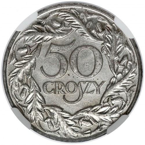 50 groszy 1938 - niklowane