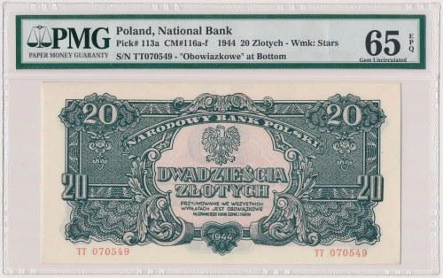 20 złotych 1944 ...owe - TT