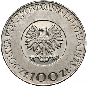 Próba NIKIEL 100 złotych 1973 Mikołaj Kopernik