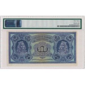 Lithuania, 100 Litu 1922 SPECIMEN - A 000054