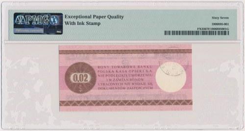 PEWEX 2 centy 1979 - mały - HO